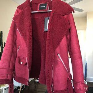 Jackets & Coats - Fiat fur shearling jacket